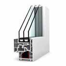 KF 220 Aluminium window profile