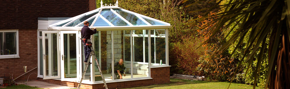 Conservatory Installation by John Knight Glass