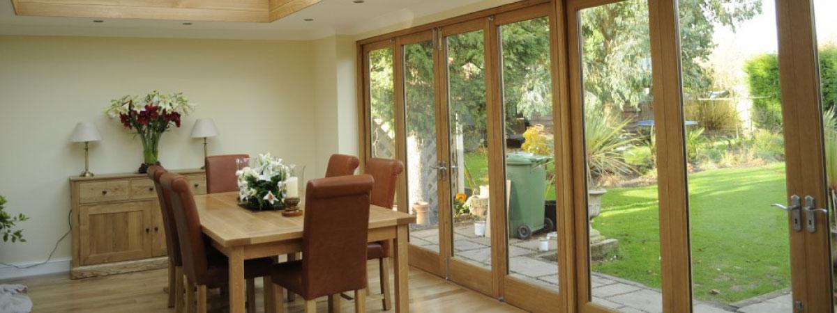 Timber Bi Fold Doors John Knight Glass