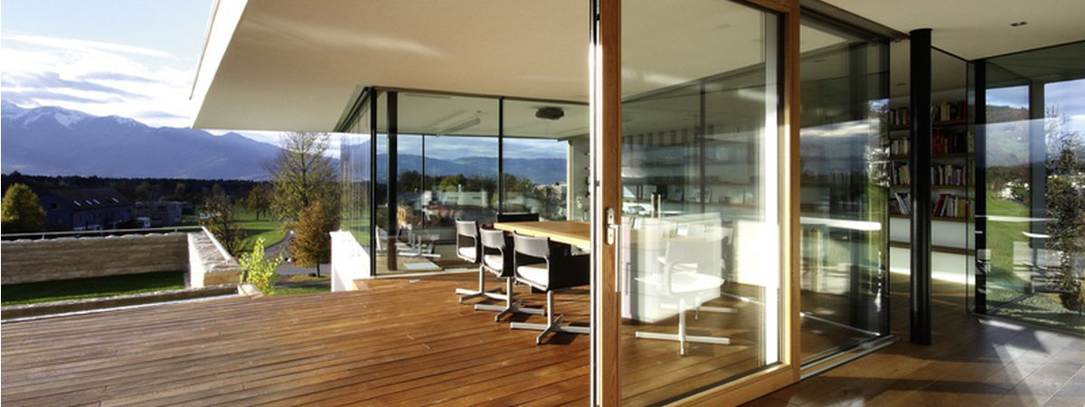 Aluminium Clad Timber Sliding Patio Doors John Knight Glass