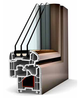 Internorm Ambiente KF 200 UPVC/ALU - Window profile
