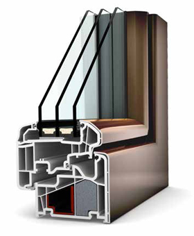 Internorm Ambiente KF 410 UPVC/ALU - Window Profile