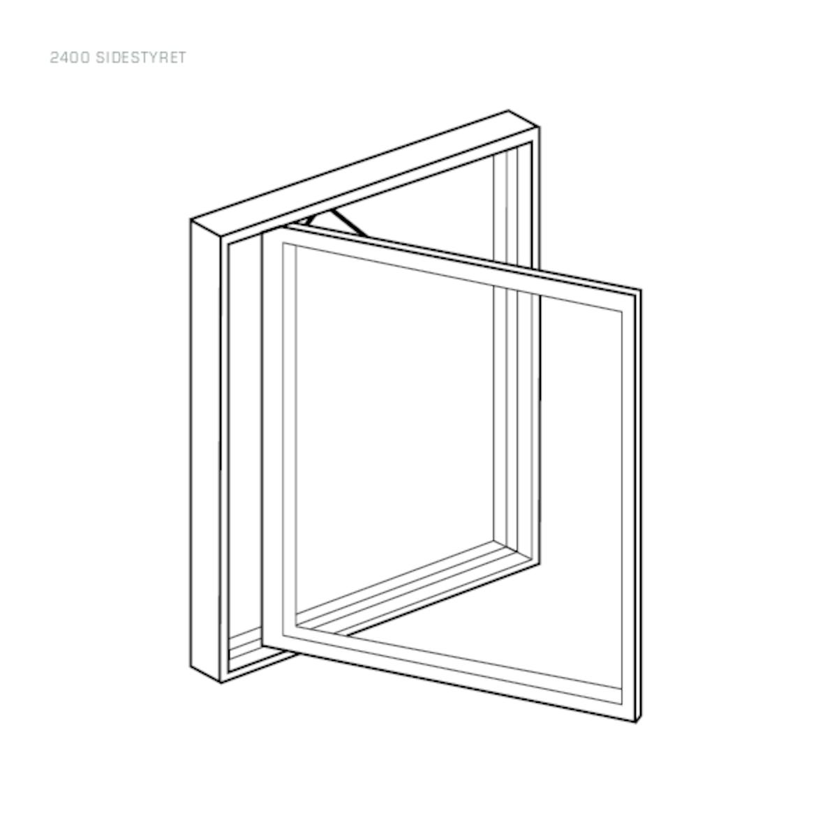 Rationel Side Guided window drawing