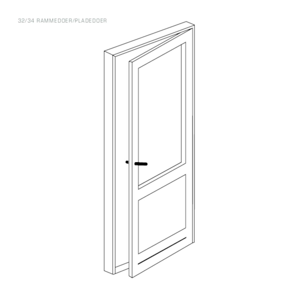 Rationel Entrance Door drawing