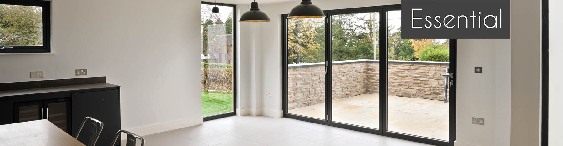 Essential Bi-fold door banner