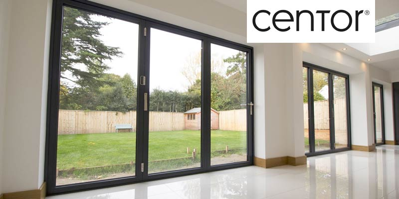 Centor BiFold door banner & Aluminium BiFold Doors | John knight Glass | NW UK