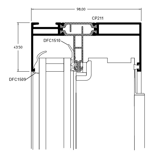 Fixed Head technical drawing