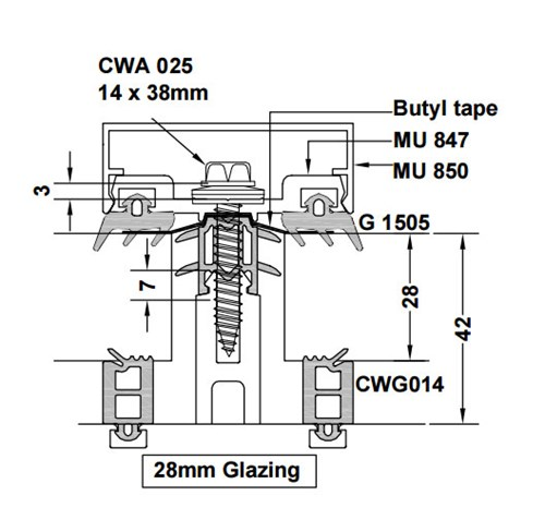 Glass Glazing Mullion : Ams aluminium curtain walling john knight glass