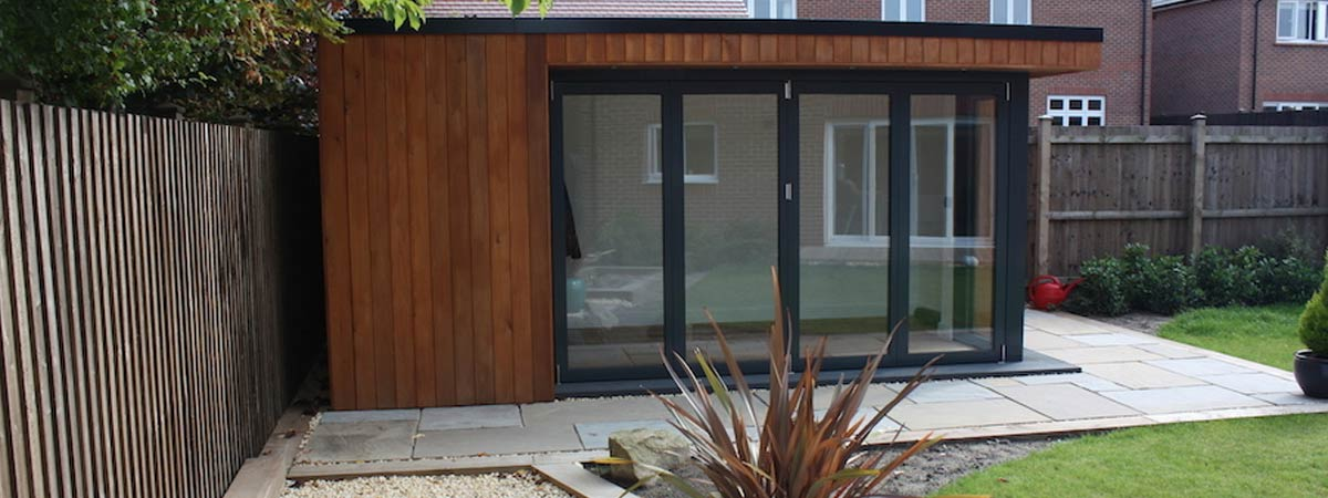 Garden Room installation, Cheshire