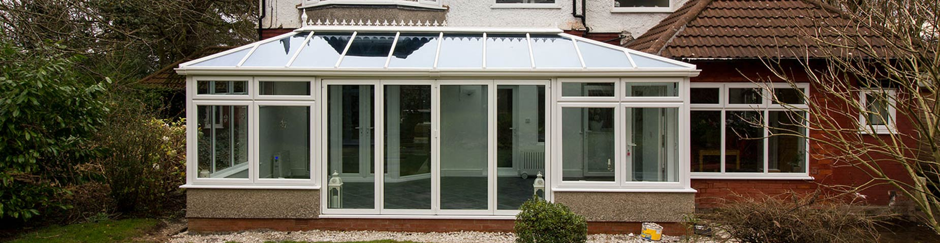 Conservatory installed featuring Celcius One glass.