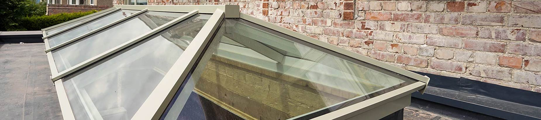 Picture of one of one of our top of the range aluminium roof lanterns.