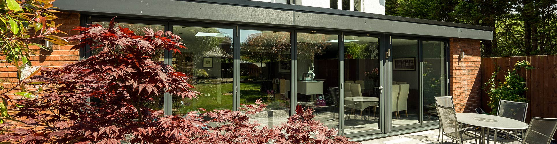 Centor bifold doors in Heswall showroom. & Centor Bifolding Doors | Centor Bifolds | John Knight Glass