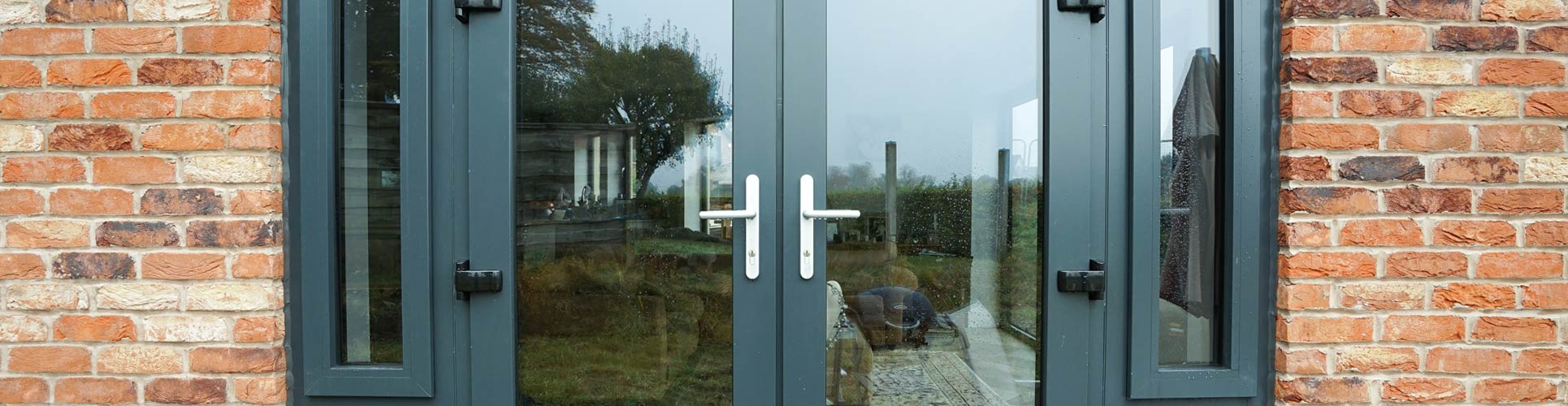 Aluminium French Door Banner