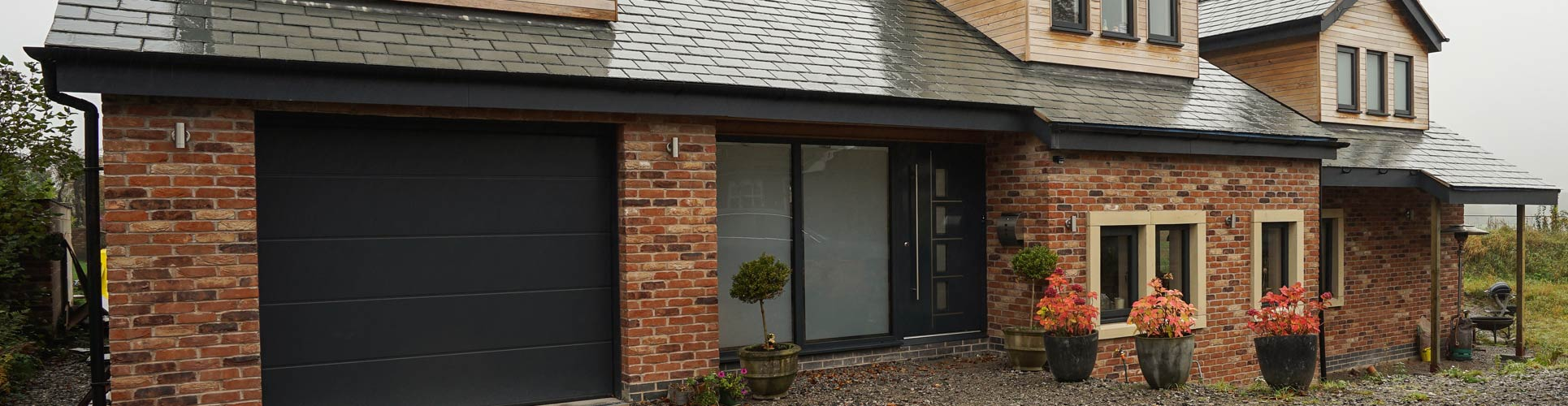 Aluminium window and door installation, Lymm