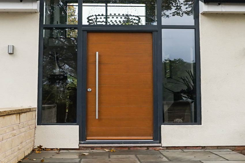 Contemporary Entrance Doors in Aluminium, Alu-Clad, Timber or PvcU