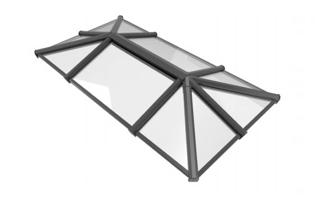 3 way design roof lantern