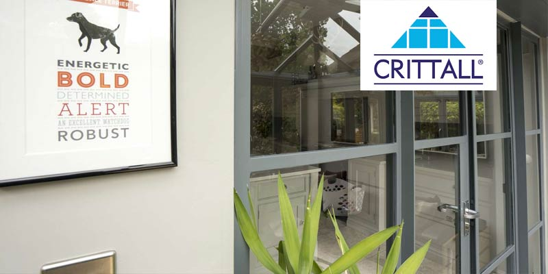 Crittal Screens available at John Knight Glass.