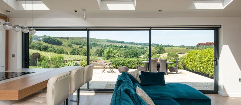 Knight Slide - aluminium sliding door