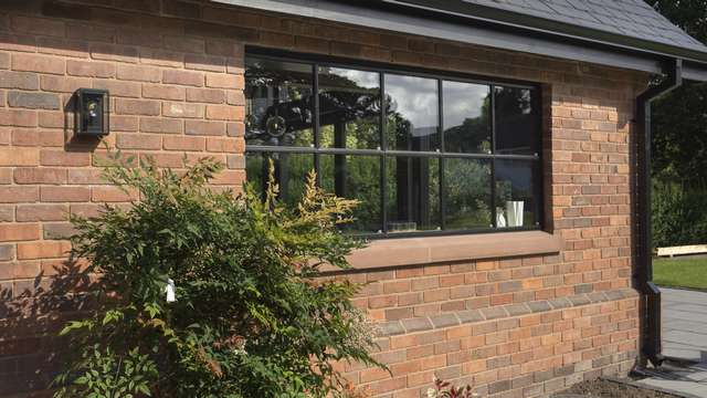 External close up of one of the Crittall windows we have installed at this project.