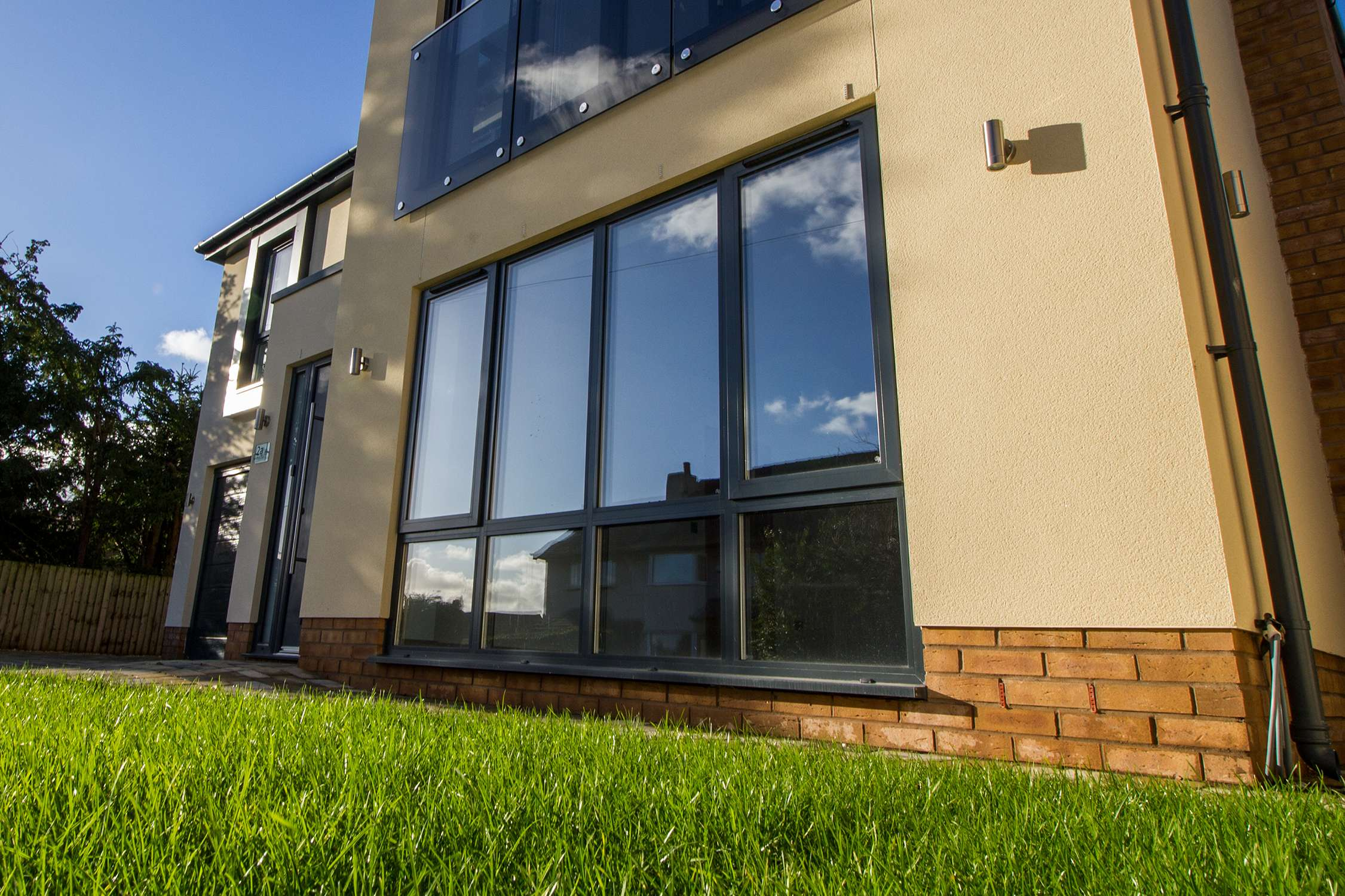 New build Aluminium Case Study Heswall Wirral