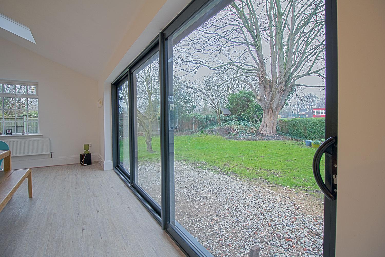 Aluminium windows chester case study for Aluminium window installation