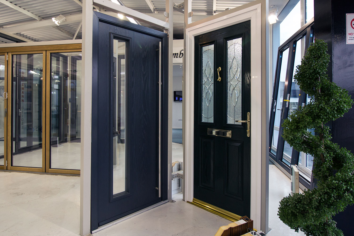 Modern And Traditional Entrance Doors On Display In Our Heswall Cheshire Showroom