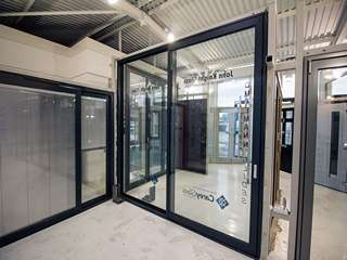 Dutemann Glide S tall sliding door.