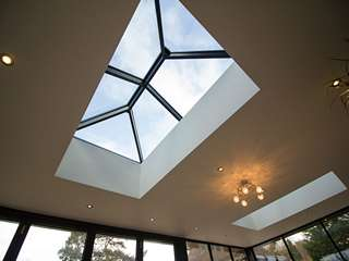 Internal shot showing dual roof lanterns.
