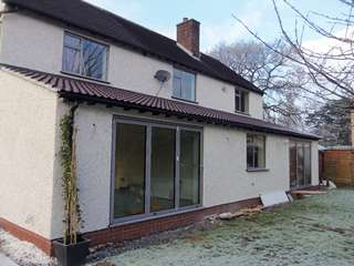 AMS windows supplied in light grey to match the dual Centor bifold doors all triple glazed for energy efficiency.