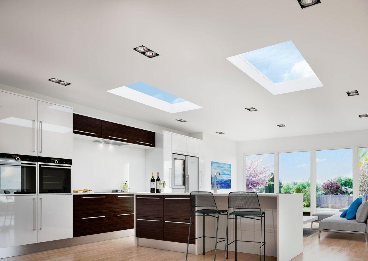 Flat Glass Roof Lights John Knight Glass
