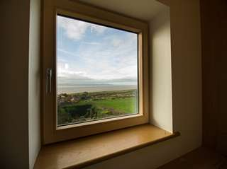 Internal view of Internorm window with views over to North Wales.