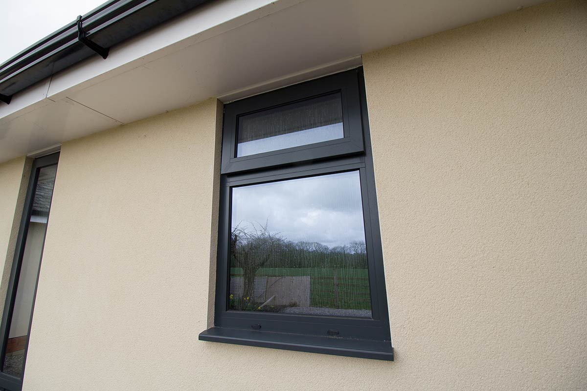 Aluminium windows lancashire john knight glass for Glass windows
