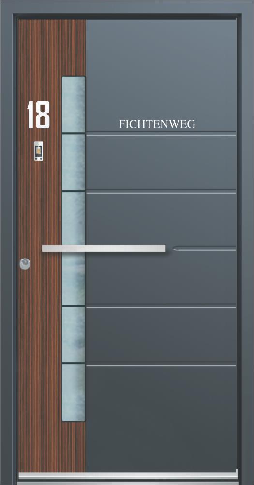 Aluminium Entrance Doors The Knight Collection Platinum