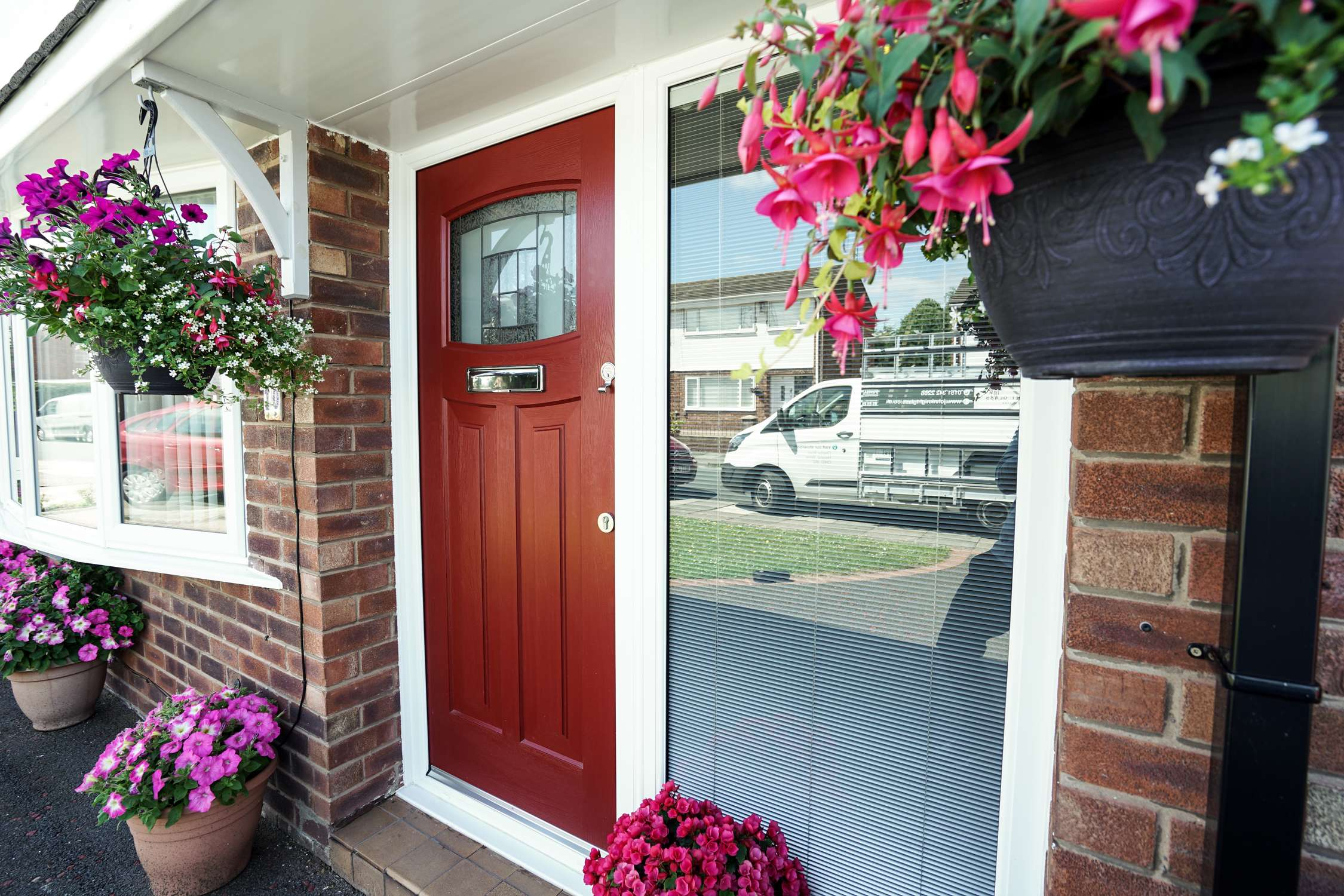 Side angle of Rockdoor fitted on the Wirral. & ROCKDOOR Composite Doors | John Knight Glass