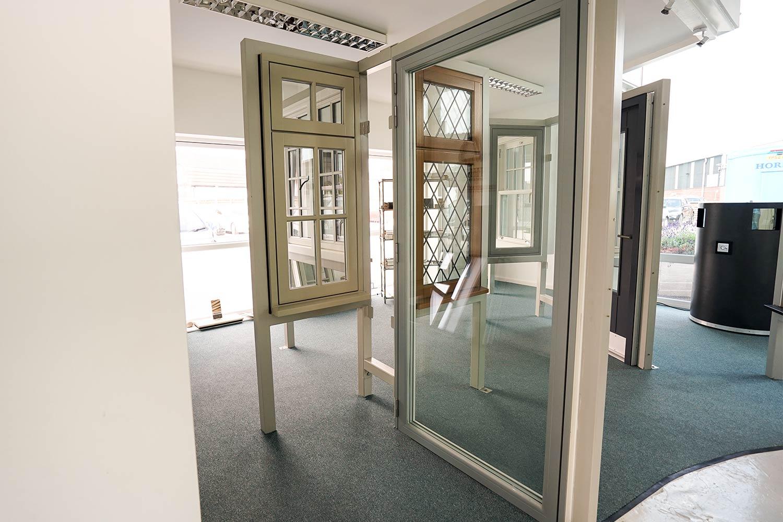 1000 #5E4C36 Aluminium Clad Doors John Knight Glass save image Clad Doors 47571500