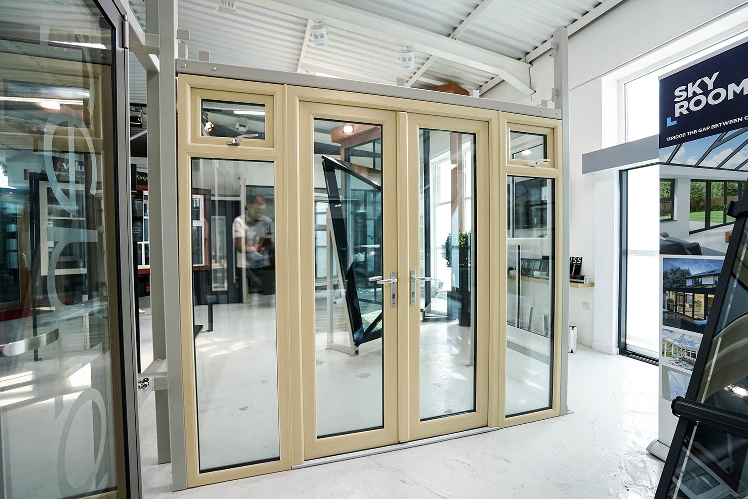 French doors patio doors and double doors john knight glass for Upvc french doors liverpool