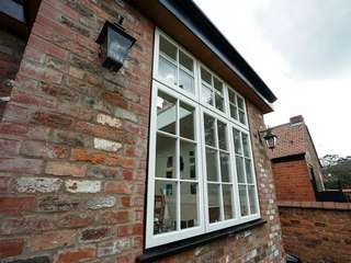 Evolution timber alternative window installed in a brand new Orangery to the rear of the property.
