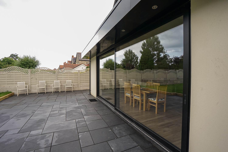 aluminium sliding door colwyn bay john knight glass. Black Bedroom Furniture Sets. Home Design Ideas