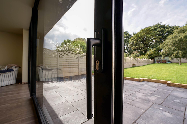 Aluminium Sliding Door Colwyn Bay John Knight Glass