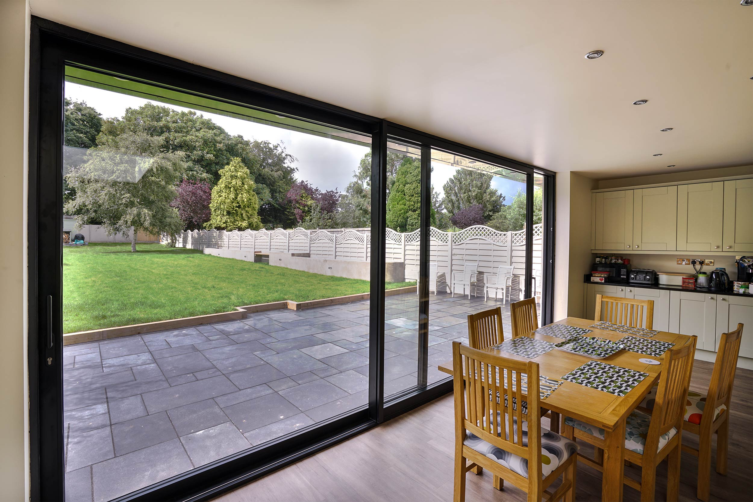 aluminium sliding door colwyn bay john knight glass