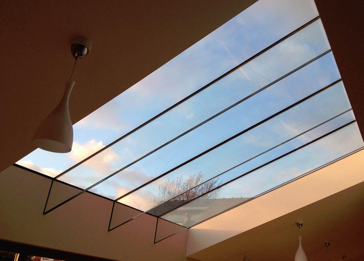 Ultra Flat Glass Roof Lights John Knight Glass