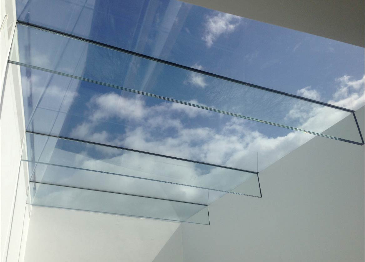 Ultra Flat Glass Roof Lights John Knight Glass