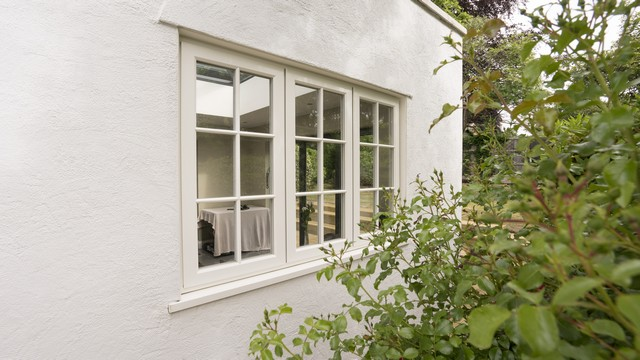 Another view of the Evolution timber alternative window.