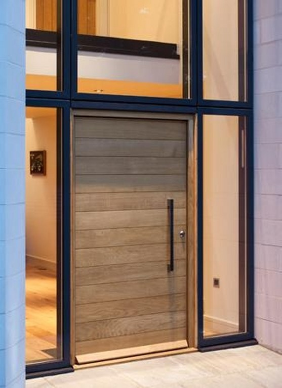 Page 14 showcase photo gallery john knight glass for Hardwood exterior doors and frames