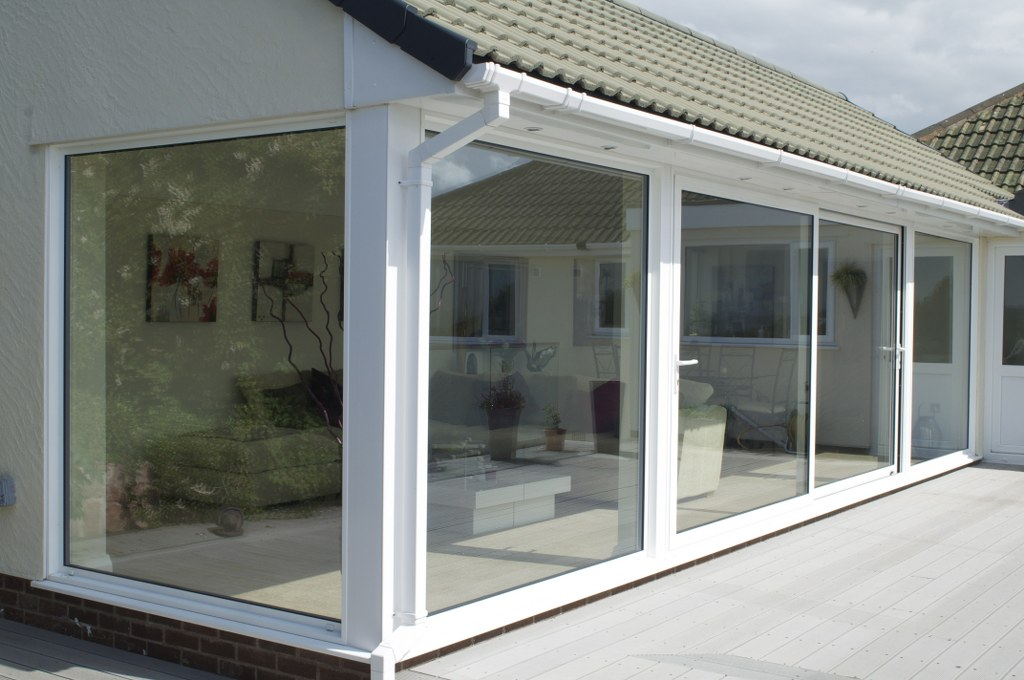 Mrs S. Lower Heswall Wirral CH60 : Allstyle Sliding Patio Doors.STD White  Polester