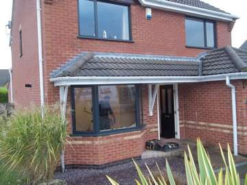 Can Grey Alumnium windows look good in your Home . This Installtion in wigan says a resounding yes. Triple glazed as standard U value 1.1 overall