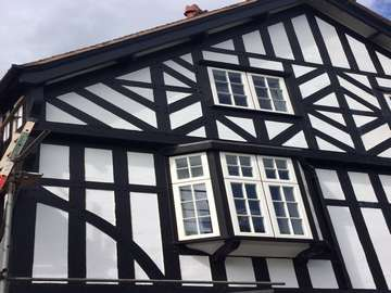 Evolution windows installed in Chester. Ideal for period properties, keeping a traditional window with modern properties and security!
