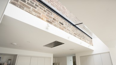 Another view of this stunning roof light bridging the gap between old and new whilst adding lots of natural light.