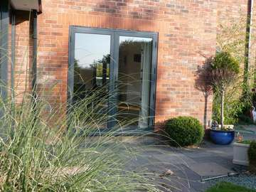 STOCKPORT CHESHIRE : Allstyle Aluminum French door - Double glazed. aluminium Doors French doors aluminium Cheshire near Manchester