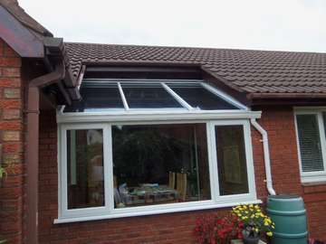 Design and Build glazed area to Dinning room ; roof - K2 PvcU roof system glazed with Celsius one U value 1. Windows ; White PvcU 2800 - triple glazed U value .9 Liverpool pvcu windows Sash windows liverpool